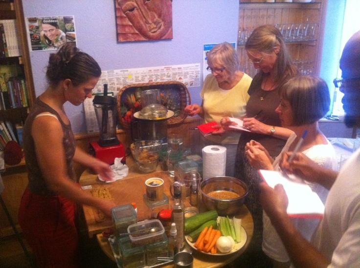 Life changing raw food workshop