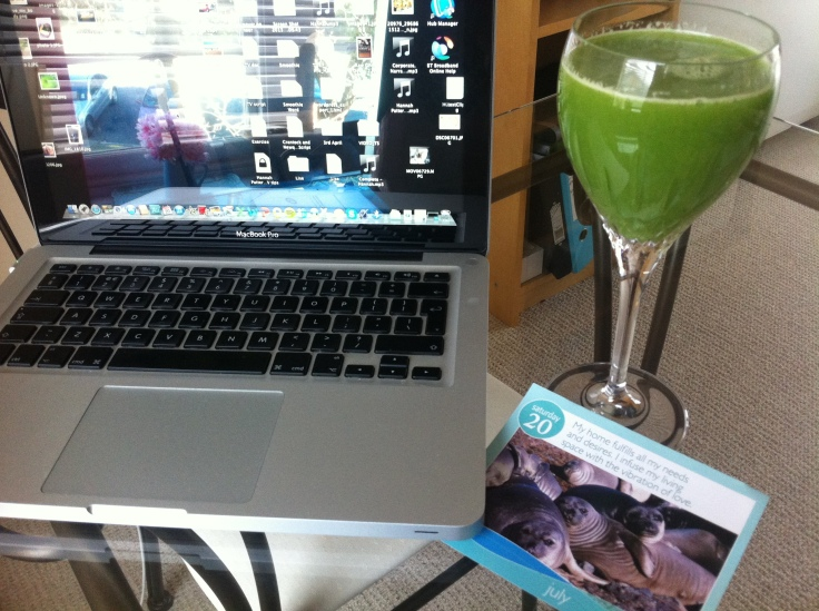 Green Juice Rocks (but it also can be a rocky thought)!