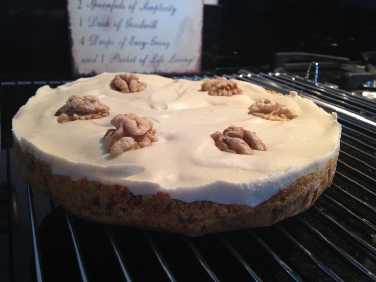 Very Healthy Carrot Cake