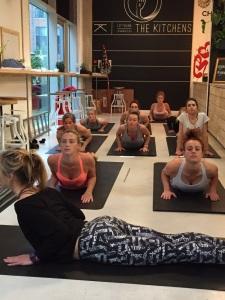 Yoga and raw food