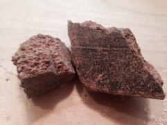 Raw cacao paste courtesy of Big Tree Farms