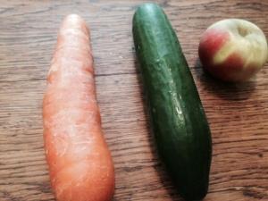 Cucumber apple carrot