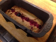 Coconut and raspberry tray bake