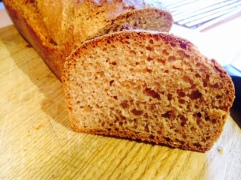 Fluffy, tasty spelt bread
